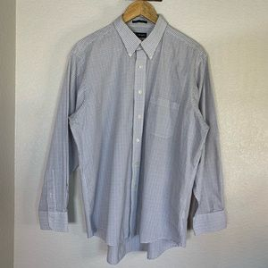 Chaps Wrinkle Free Dress Shirt Men's 17-17-1/2